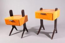 two bedside nightstands,